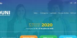 MEC abre inscrições para o Prouni do segundo semestre de 2020